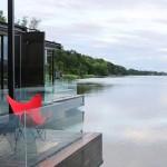 ครอสทูริเว่อร์แคว เปิดตัวห้องพักใหม่ XFloat Cabin X2 River Kwai Launches Brand-New XFloat Cabin