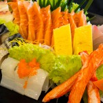 บุฟเฟ่ต์เต็มอิ่มที่ TENJO Sushi & Yakiniku