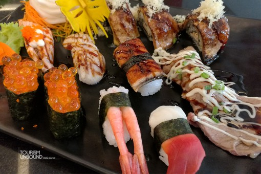sushi-หอยปีกนก