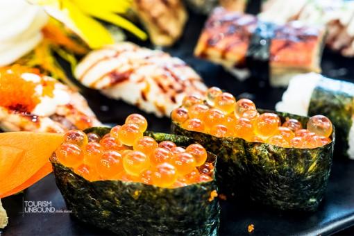 sushi-ไข่ปลาแซลมอน